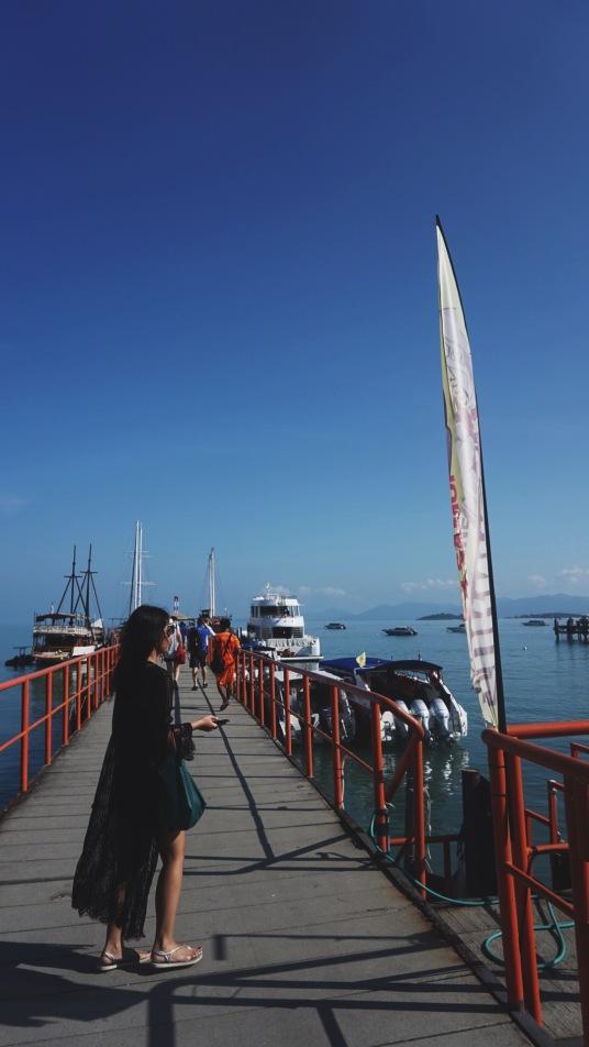 Petchetra Pier, Bangrak Koh Samui